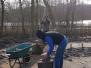 arbeidsmatig werk 'hout kloven'